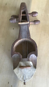 Indonesian-Stringed-Musical-Instrument-Wooden-Carved