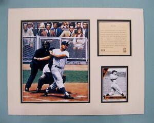 New York Yankees Roger Maris 1994 Baseball 11x14 MATTED Kelly Russell Print