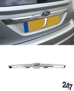 NEW-FORD-FOCUS-MK2-2008-2011-REAR-TRUNK-BOOT-CHROME-STRIP-HANDLE-MOLDING-1581833