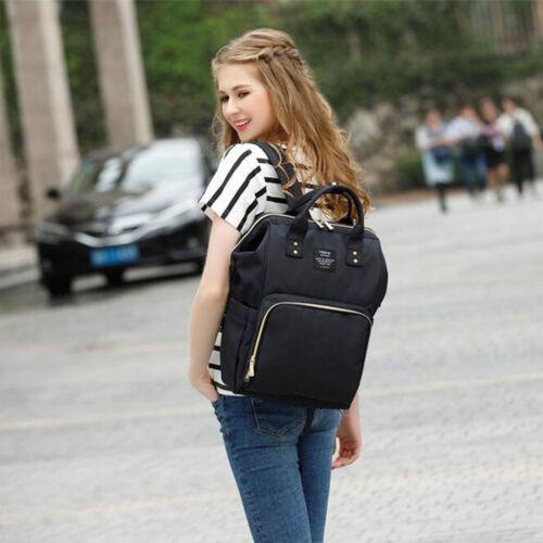 Multifunctional Mummy backpack Rucksack Diaper Bag Nappy Bag Waterproof Travel