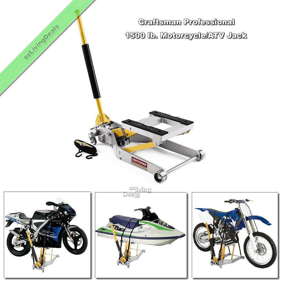 Craftsman Motorcycle Jack Professional 1500 Lb Atv Bike
