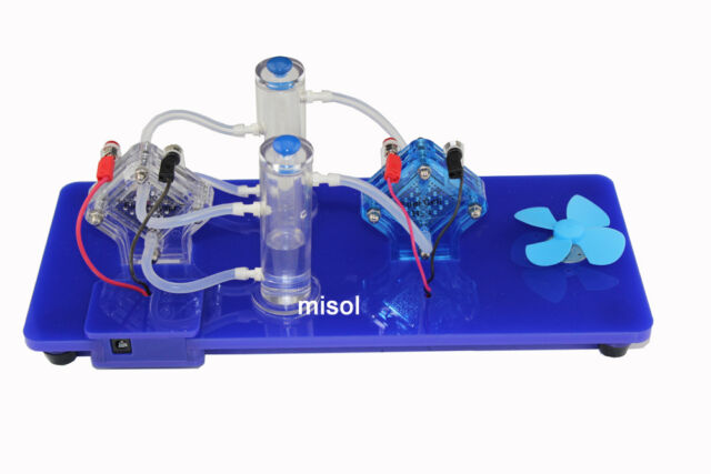 misol experiment tool( PEM cell + electrolyzer) to generate Oxygen and Hydrogen