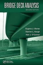 Bridge Deck Analysis by Eugene J. O'Brien, Damien L. Keogh, Alan O'Connor...