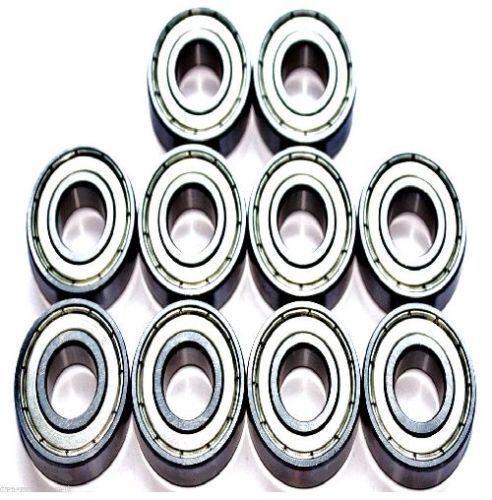 Pack de 10 6901 61901 12x24x6mm ZZ mince section Deep groove ball bearing