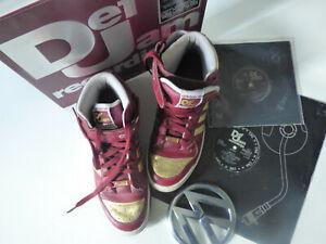IndéPendant Def Jam Adidas 25th Anniversaire Forum Mi Chaussures, Hardcover Book & Vinyl Records-afficher Le Titre D'origine