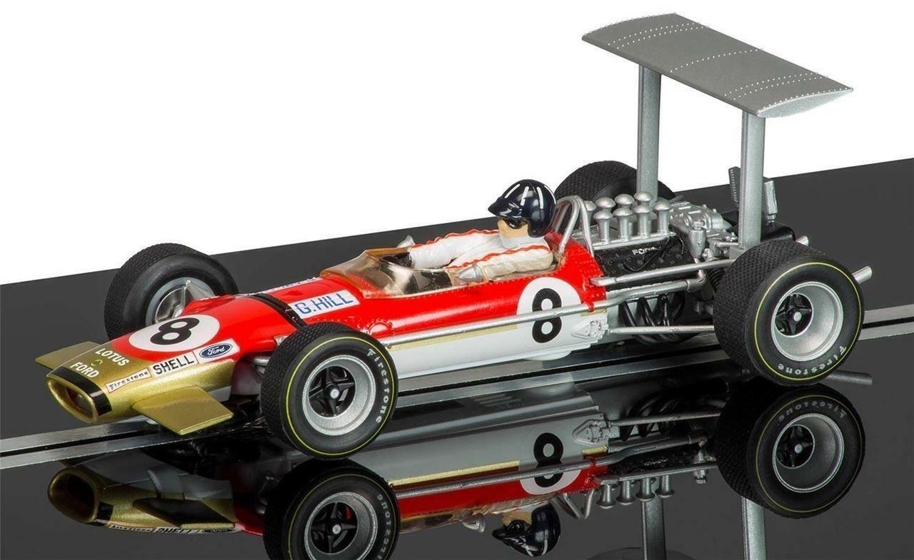 SCALEXTRIC C3543A Legends Team Lotus Type 49 Graham Hill No8