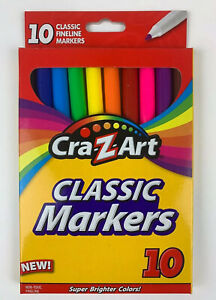 Cra-Z-art-Classic-Fine-Line-Markers-10-ct-Pack
