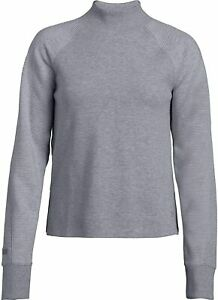 Under-Armour-Women-s-XS-Unstoppable-Double-Knit-Mock-Pullover-Sweatshirt-1323193