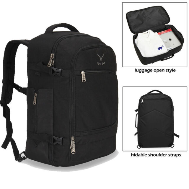 40L Cabin Approved Travel Backpack Carry on Bag Hand Luggage Weekender  Suitcase 4a7d04e3e61cf