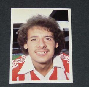 #247 JOHNSON STOKE CITY POTTERS DAILY STAR FOOTBALL ENGLAND 1980-1981 PANINI zhS3ikEI-08021813-307658908