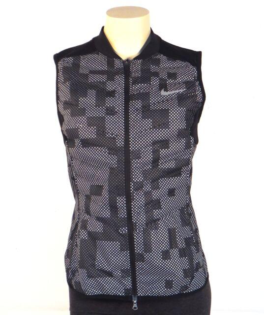 0e0acfab81d1 Nike Aeroloft Flash 800 Fill Down Zip Front Running Vest Women s Small S NWT