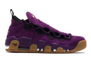 Nike Air Max More Money Purple Metallic Gold Black Leopard Print Gum ... 66fb115a4