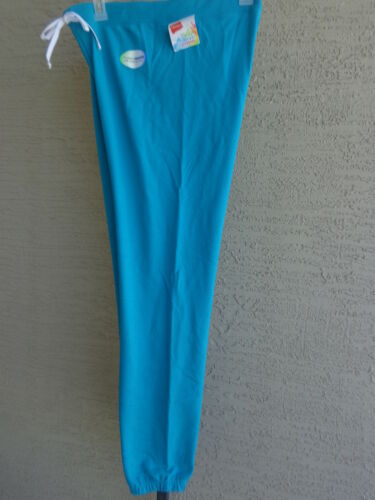 Hanes Live Love Color Light Weight French Terry Cinched bottom Sweat Pants S