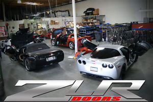 Image is loading Chevy-Corvette-C6-05-10-Vertical-Doors-Inc- & Chevy Corvette C6 05-10 Vertical Doors Inc ZLR DOORS OFFERS ...