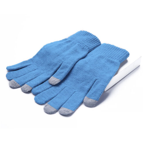 Adult Ladies Soft Warm  Knitted Magic Gloves Touch Screen Winter High Quality