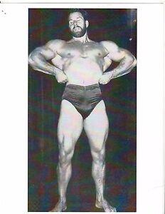 bodybuilder REG PARK Grows Beard For Hercules Movie Muscle