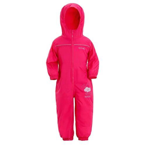 RRP £30 REGATTA CHILDRENS PUDDLE PADDLE RAIN SUIT WATERPROOF RAINSUIT KIDS