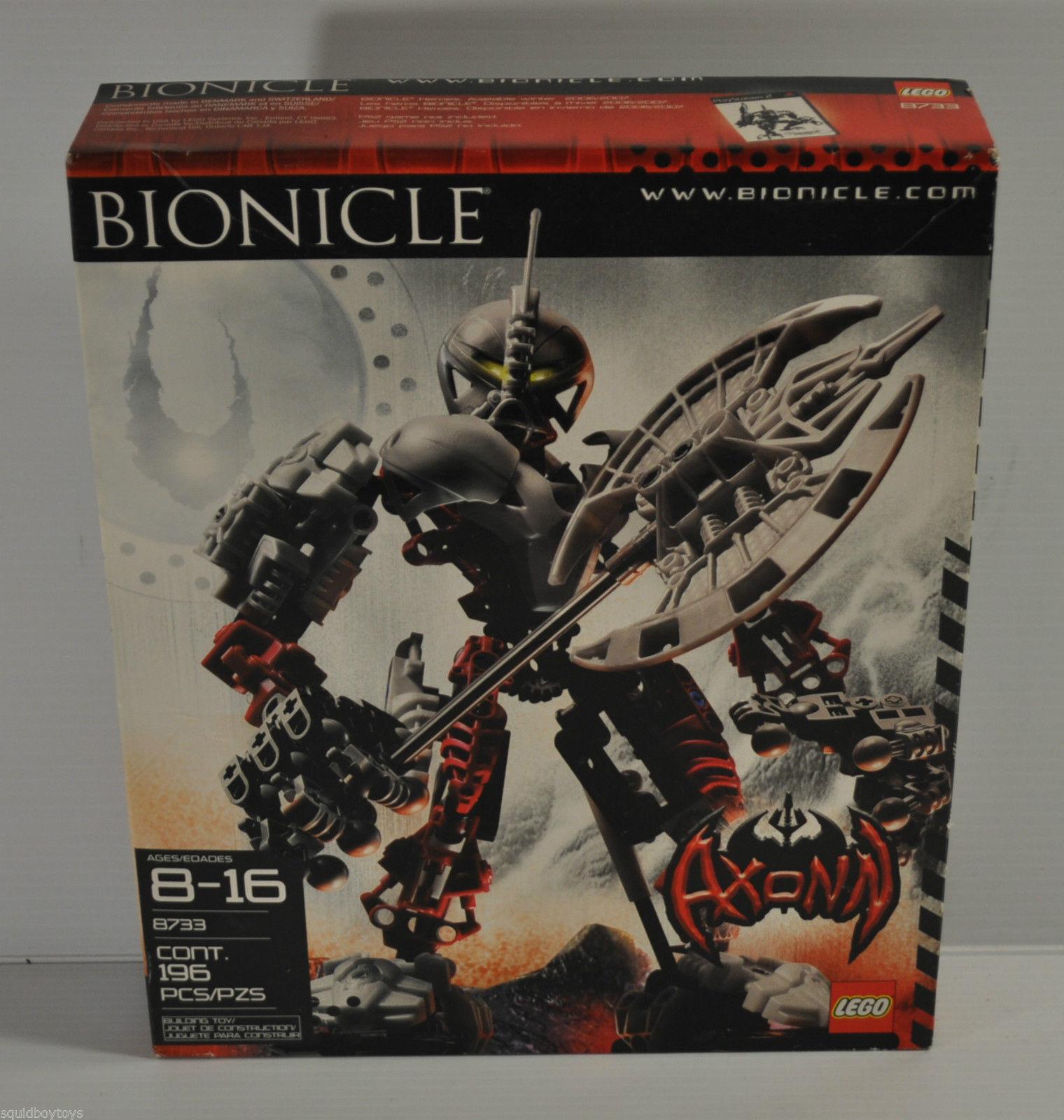 LEGO  BIONICLE AXONN  8733 nouveau SEALED VHTF  offre spéciale
