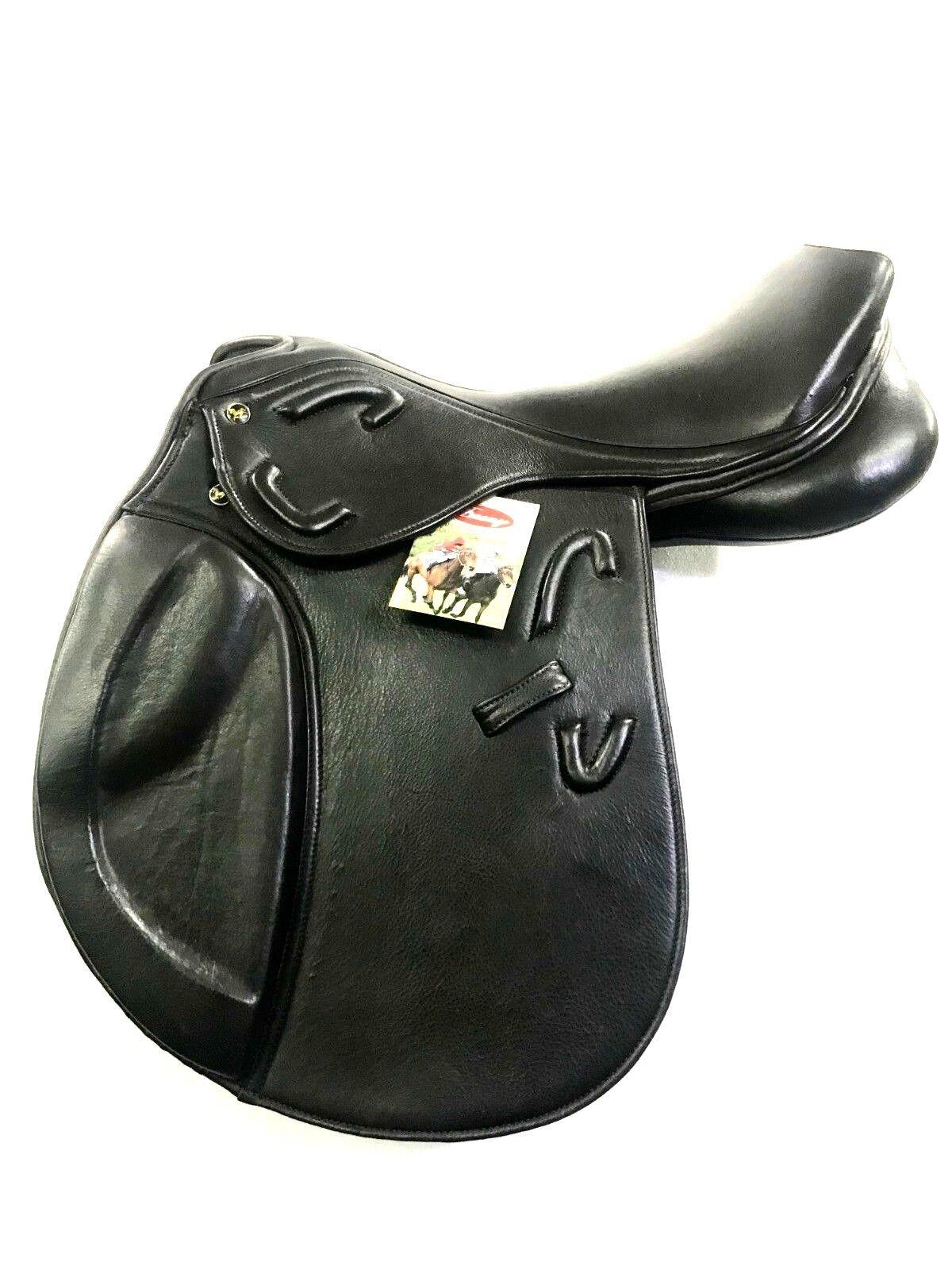 New Softy Padded Leather English  All Purpose Saddle