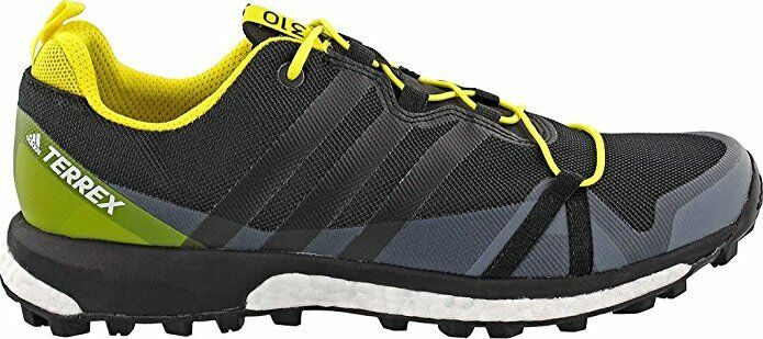 Adidas Terrex Men's Terrex Agravic - Black Black Bright Yellow - 115