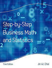 Step-By-Step Business Math and Statistics by Jin W Choi (Paperback / softback, 2010)