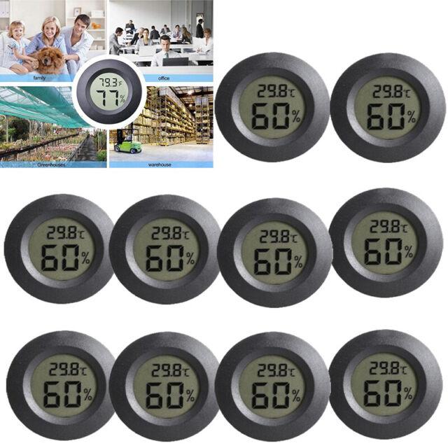 2 In 1 Digital LCD Thermometer Temperatur Hygrometer Luftfeuchtigkeit InnenAußen