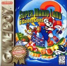 Super Mario Land 2 II 6 Golden Coins Game Boy Color Adv