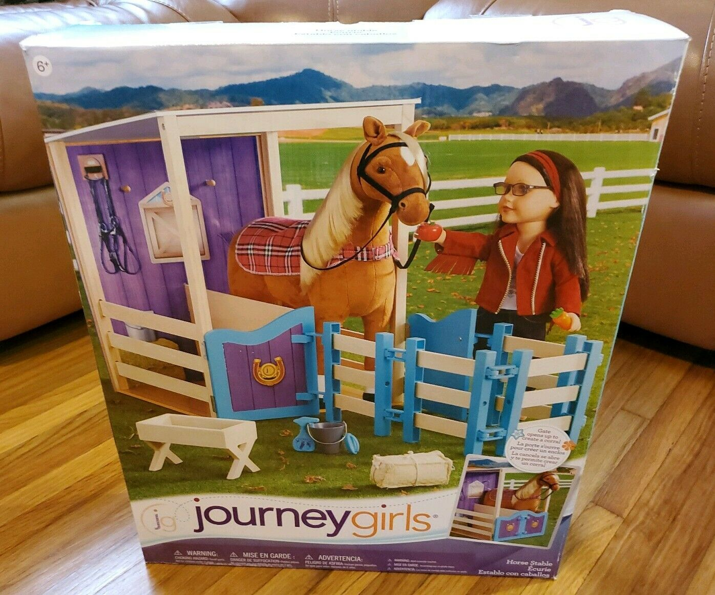 2017 JOURNEY GIRLS HORSE STABLE--TOYS R US--NEW--UNOPENED