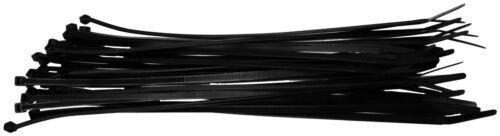 "NEW WIRE TIES 8/"" BLACK 100 PCS XSCORPION CT8"