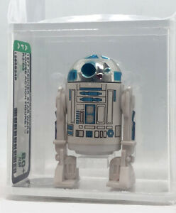 Kenner Star Wars R2-D2 No COO! Solid Dome AFA 80+ loose vintage WOW!!!