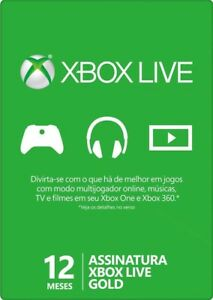 Xbox Live Gold 12 Meses Suscripción 1 año código Xbox One 360 Tarjeta Prepago ES