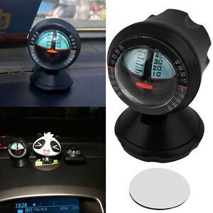 Inclinometro-Medidor-Indicador-Balance-Angulo-Pendiente-Para-Coche-Auto-Vehiculo