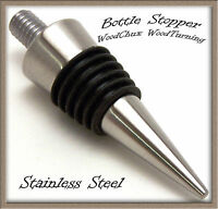 Bottle Stopper Kit Stainless Steel Cone Fast Shipping Woodturning