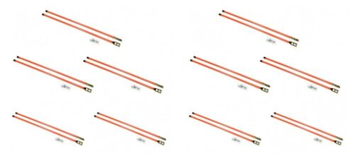 """Pair of 36/"""" Universal SNOW PLOW BLADE MARKER GUIDES for Buyers SAM 1308110 10"""