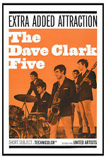 British Invasion: The Dave Clark Five USA Movie Poster 1964
