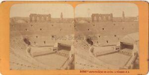 Verona-Anfiteatro-Italia-Stereo-J-Andrieu-Parigi-Albumina-Ca-1870