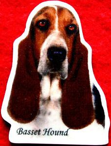 Basset Hound Dog personnalisé Jumbo Aimant Réfrigérateur