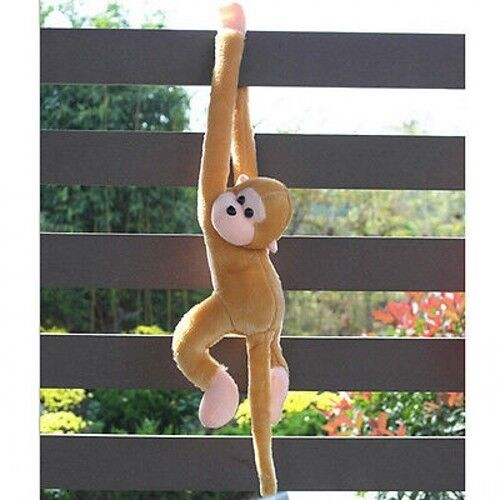 Cute Screech Monkey Plush Toy Lovely Doll Gibbons Kids Educational Toys Gifts