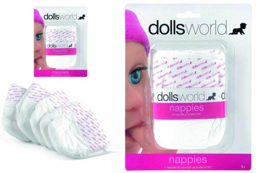Puppen-Windeln Windeln Pampers bis 46 cm Doll's World NEU Puppen & Zubehör UVP!! Kleidung & Accessoires