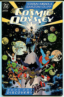 Cosmic Odyssey 1 Cgc 9.8 White Pages Dc