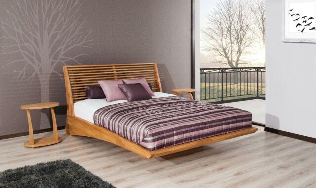 Massivholzbett Bett Schlafzimmerbett Fresno Buche Massiv 140x200 Cm Gunstig Kaufen Ebay