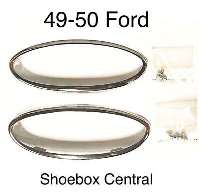 1950 Ford Park Light Bezel kit