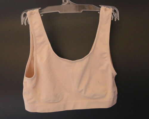 Medium New Ex Marks and Spencer Almond Crop Top