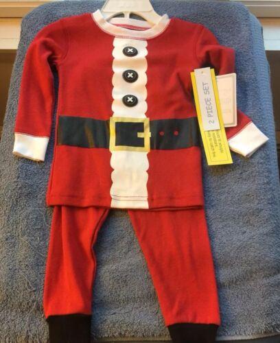 NWT 2 Pc Santa Outfit 18 Mo