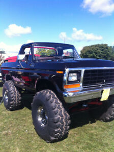 1979 Ford Bronco 2 Dr