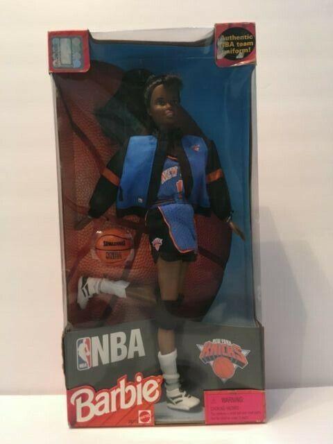 Barbie de la NBA Knicks  African American  Nuevo En Caja