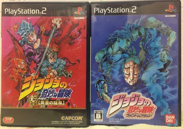 PS2 Jojo no Kimyou na Bouken Phantom Blood + Ougon no Kaze ...