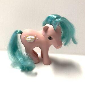 Vintage-My-Little-Pony-G1-034-BANANA-SURPRISE-034-Sundae-Best-Ponies-MLP-1987