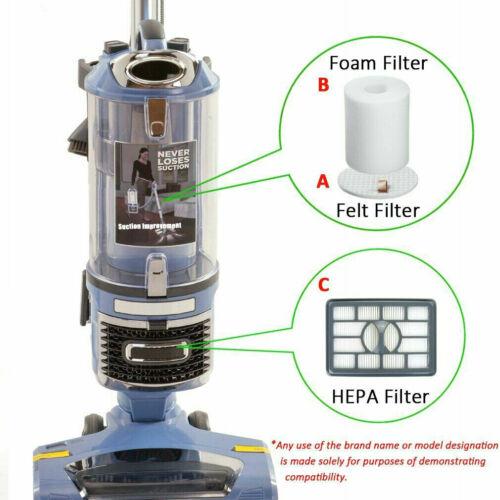 Hepa Foam Filter For Shark Rotator Pro Lift-Away NV500 NV501 NV502 Vacuum Xhf500
