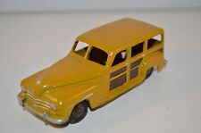 Dinky Toys 344 Plymouth woody in repainted condition